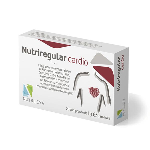 Vuoi tenere a bada il colesterolo cattivo? Prova Nutriregular Cardio